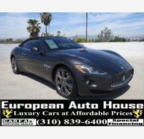 2013 Maserati GranTurismo Convertible for sale 101154749