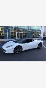 2012 Ferrari 458 Italia Coupe for sale 101154801