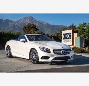 2017 Mercedes-Benz S550 Cabriolet for sale 101154904