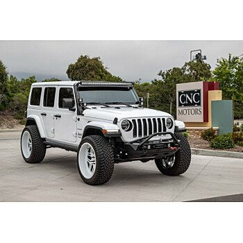 2018 Jeep Wrangler 4WD Unlimited Sahara for sale 101154988