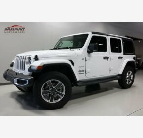 2018 Jeep Wrangler 4WD Unlimited Sahara for sale 101155183