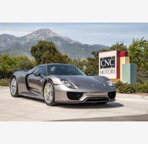 2015 Porsche 918 Spyder for sale 101155330