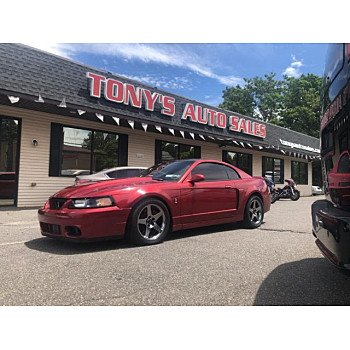 2003 Ford Mustang Cobra Coupe for sale 101155351