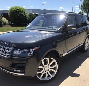 2016 Land Rover Range Rover Supercharged for sale 101155750