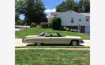 1973 Cadillac De Ville Coupe for sale 101155879