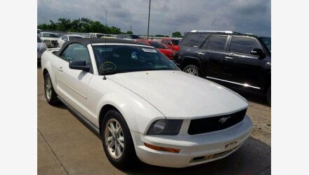 2008 Ford Mustang Convertible for sale 101156163