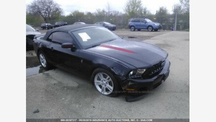 2012 Ford Mustang Convertible for sale 101156262