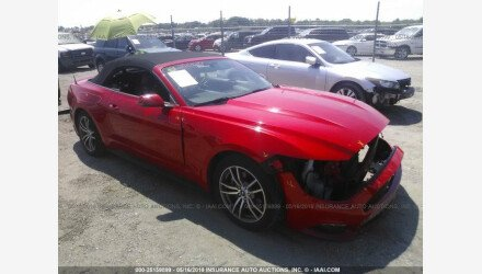 2015 Ford Mustang Convertible for sale 101156285