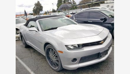 2015 Chevrolet Camaro LT Convertible for sale 101156757
