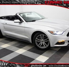 2015 Ford Mustang Convertible for sale 101157290