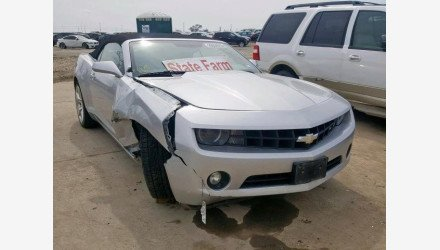 2011 Chevrolet Camaro LT Convertible for sale 101157510