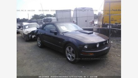2007 Ford Mustang GT Convertible for sale 101157567