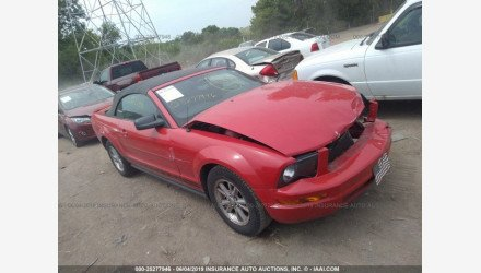2007 Ford Mustang Convertible for sale 101158224