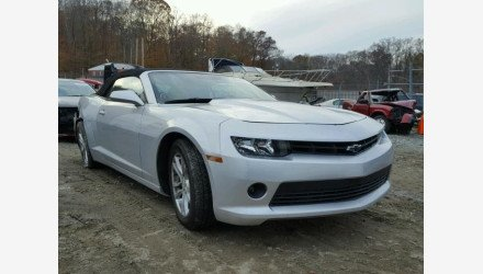 2014 Chevrolet Camaro LT Convertible for sale 101158491
