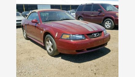 2004 Ford Mustang Convertible for sale 101160040