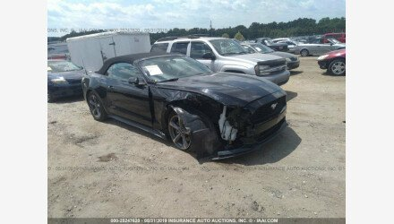 2015 Ford Mustang Convertible for sale 101160229