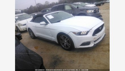 2016 Ford Mustang Convertible for sale 101160230