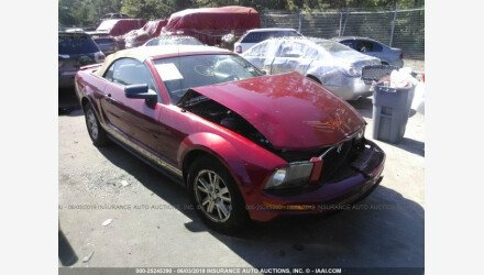 2007 Ford Mustang Convertible for sale 101160256