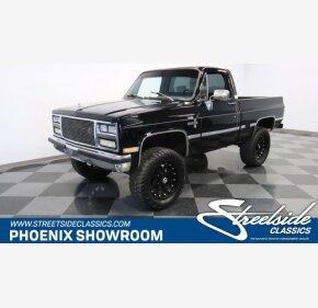1985 Chevrolet C/K Truck 4x4 Regular Cab 1500 for sale 101160527