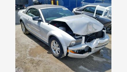 2007 Ford Mustang Convertible for sale 101161069