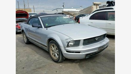 2007 Ford Mustang Convertible for sale 101161144