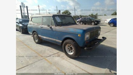 1974 International Harvester Scout for sale 101161263