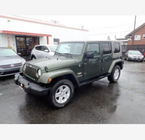 2007 Jeep Wrangler 4WD Unlimited Sahara for sale 101161411