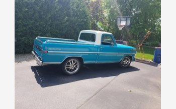 1972 Ford F100 2WD Regular Cab for sale 101161622