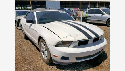 2012 Ford Mustang Convertible for sale 101162315