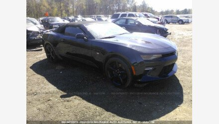 2017 Chevrolet Camaro SS Convertible for sale 101162479