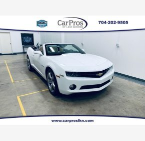 2011 Chevrolet Camaro LT Convertible for sale 101162710