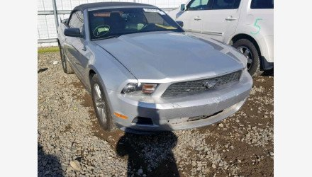 2011 Ford Mustang Convertible for sale 101162760