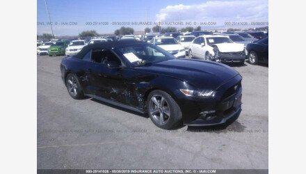 2015 Ford Mustang Convertible for sale 101162775
