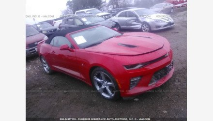 2017 Chevrolet Camaro SS Convertible for sale 101163595