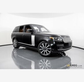 2016 Land Rover Range Rover Autobiography for sale 101163795
