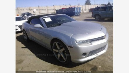 2014 Chevrolet Camaro LT Convertible for sale 101165898