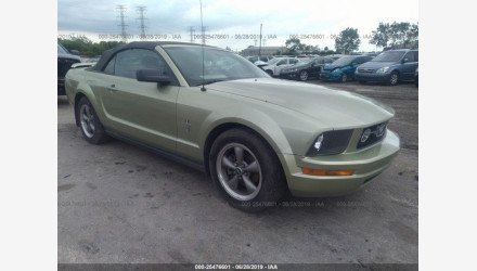 2006 Ford Mustang Convertible for sale 101166511