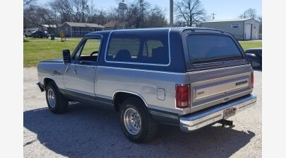 1987 Dodge Ramcharger 2WD for sale 101166734