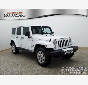 2016 Jeep Wrangler 4WD Unlimited Sahara for sale 101167059