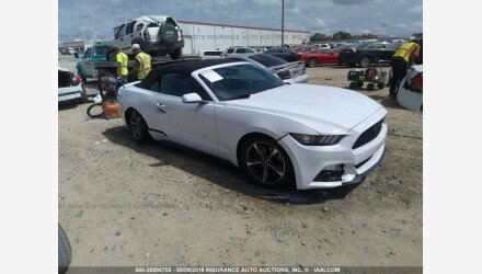 2015 Ford Mustang Convertible for sale 101168347