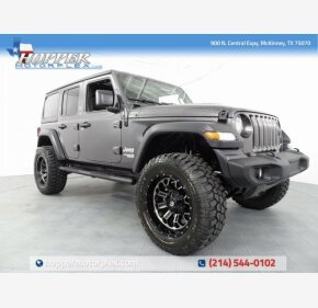 2018 Jeep Wrangler 4WD Unlimited Sport for sale 101169235