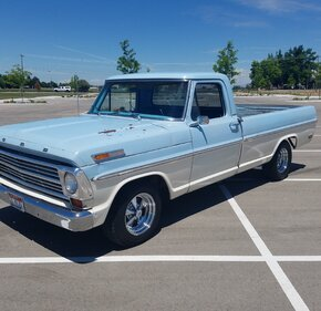 1968 Ford F100 2WD Regular Cab for sale 101169310
