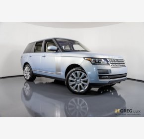 2016 Land Rover Range Rover Supercharged for sale 101170039