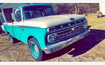 1966 Ford F100 2WD Regular Cab for sale 101171148