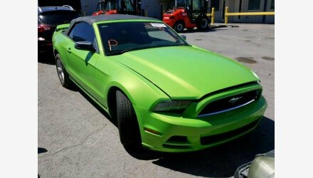 2014 Ford Mustang Convertible for sale 101171385