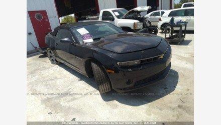 2015 Chevrolet Camaro LT Convertible for sale 101171592