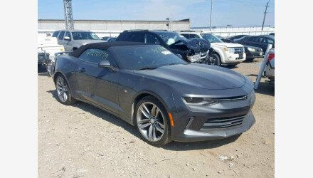 2017 Chevrolet Camaro LT Convertible for sale 101172083