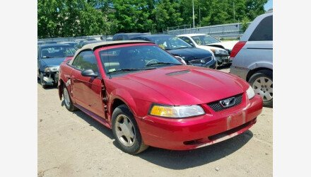 2000 Ford Mustang Convertible for sale 101172101