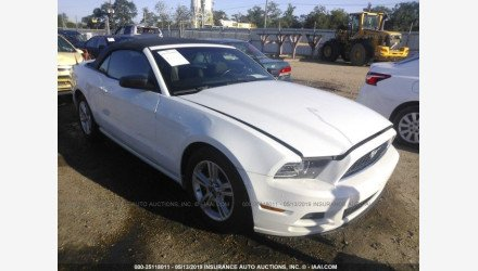 2014 Ford Mustang Convertible for sale 101172156
