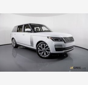2019 Land Rover Range Rover Long Wheelbase Supercharged for sale 101172411